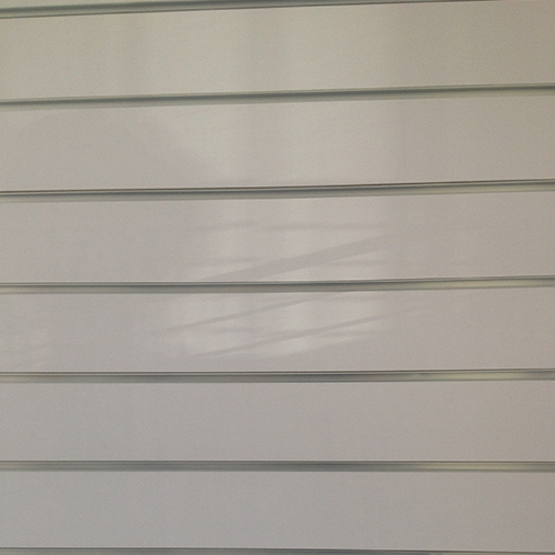 Slatwall Panel with Aluminium Strips