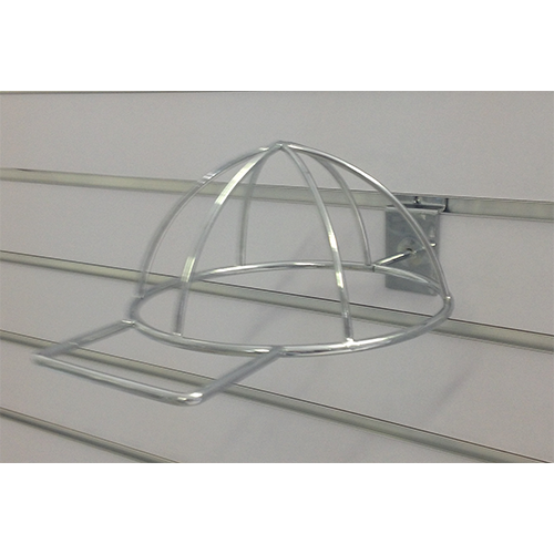 Metal Slatwall Hook: Cap-Type Hat Holder