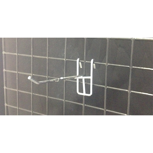 Metal Chrome Grid Hook (Light Duty)