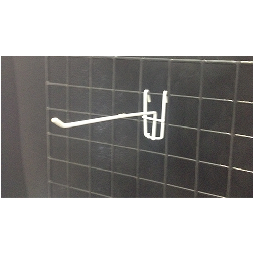 Metal White Grid Hook (Light Duty)