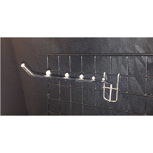 Metal Chrome 5 Bead Grid Hook (Medium Duty)