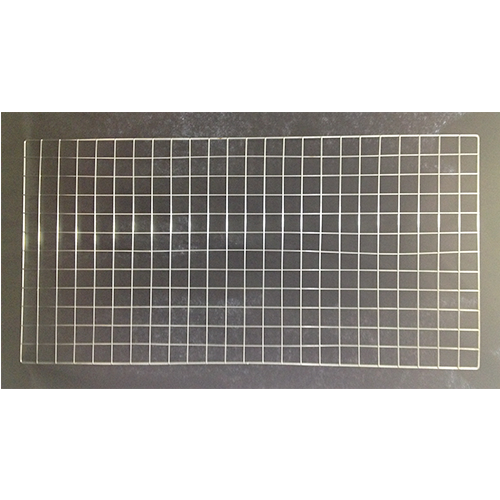 Metal Chrome Grid Panel