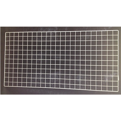 Metal White Grid Panel