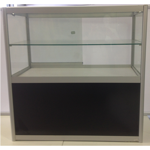 Glass Counter With Cupboard