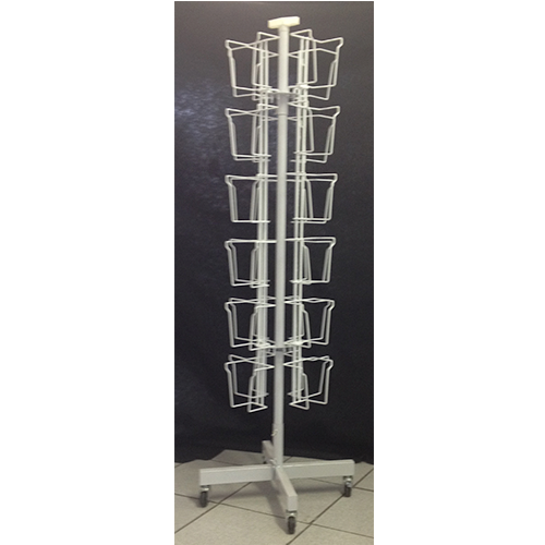 Revolving DVD Display Stand